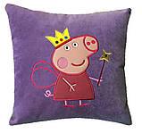 Подушка детская сувенирная с вышивкой Хот Вилс, фото 2