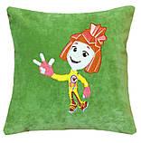 Подушка детская сувенирная с вышивкой Хот Вилс, фото 3