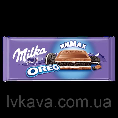 Молочный шоколад Milka Oreo , 300 гр, фото 2