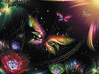 Фотообои, бабочки, абстракция, ПРЕСТИЖ №1 196смХ136см