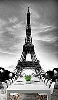 "Фотообои ""Париж, Ч/б"""