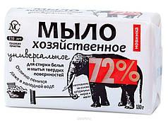 """Хозяйственное Мыло """"72%"""" Универсальне 180г"""