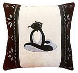 Сувенірна подушка з вишивкою знака Зодіаку, фото 6