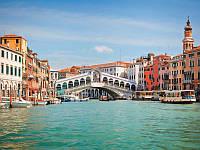 Фотообои, город на реке, город, Италия, старый город, ПРЕСТИЖ №4 196смХ136см