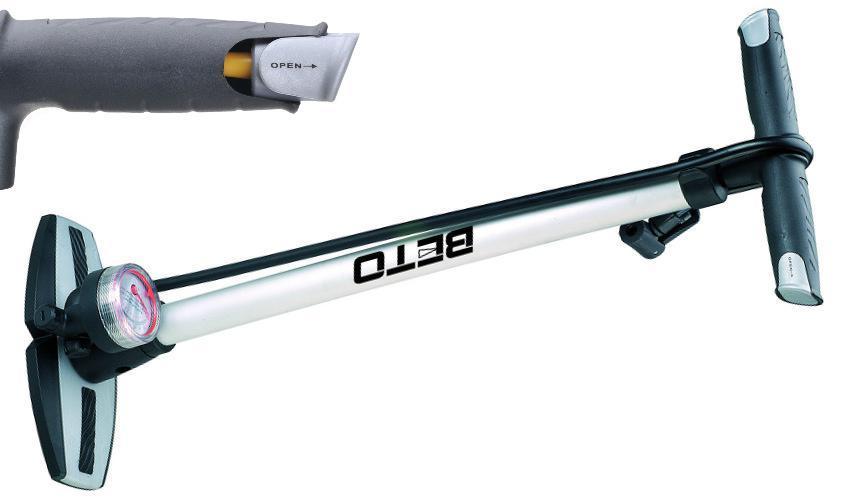 Насос напольный с манометром Beto CMP-081SN3 (A-PO-0113)