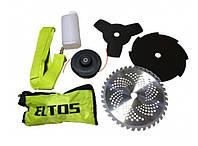 Мотокоса Eltos БГ-3900 (3 ножа+ 1 леска), фото 7