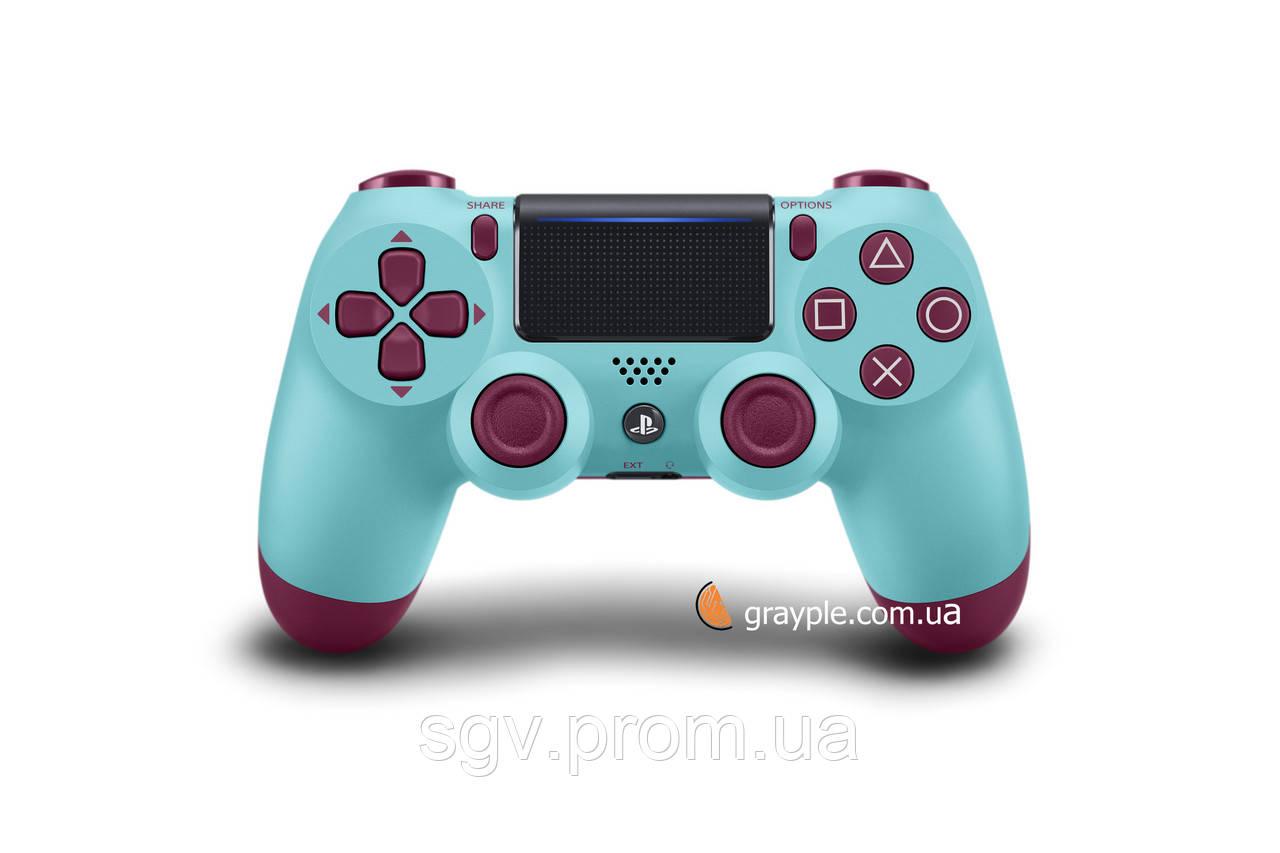Беспроводной геймпад PlayStation Dualshock V2 Bluetooth PS4 Berry blue