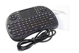 КлавиатураMINI KEYBOARD wireless i8 +тачпад. Беспроводная клавиатура для телевизора TV, компьютера, SMART TV
