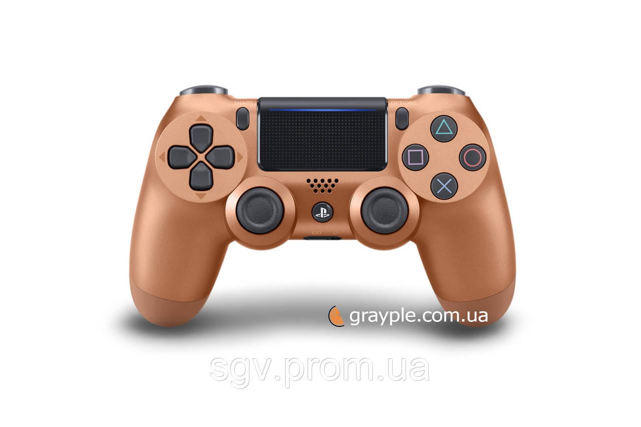 Беспроводной геймпад PlayStation Dualshock V2 Bluetooth PS4 Metalic Copper