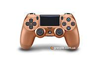 Беспроводной геймпад PlayStation Dualshock V2 Bluetooth PS4 Metalic Copper, фото 1