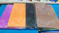 Набор фоамирана цвета в ассортименте, размер А4, толщина 2 мм