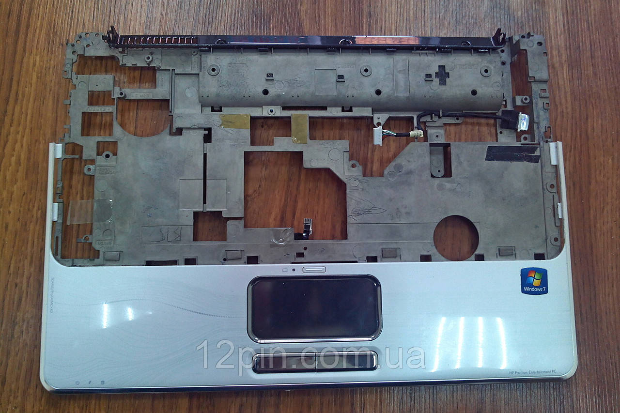 Средняя  часть корпуса топкейс  ноутбука HP DV4 2145 б.у. оригинал.