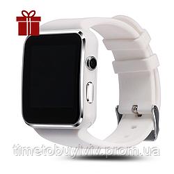 Умные часы Smart Watch X6   Белый