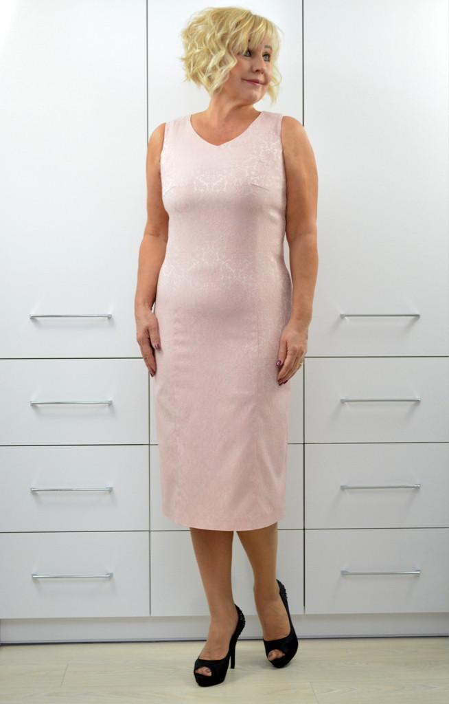 Платье жаккард - Модель 1734-4п