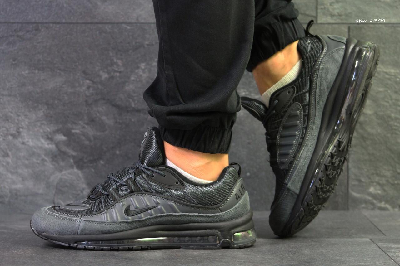 Кроссовки мужские Nike  97,демисезонные,серые 44р