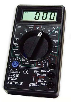 Мультиметр DT-830B (тестер), фото 2