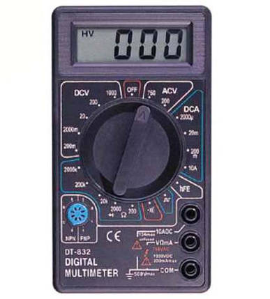 Мультиметр DT-832(тестер), фото 2