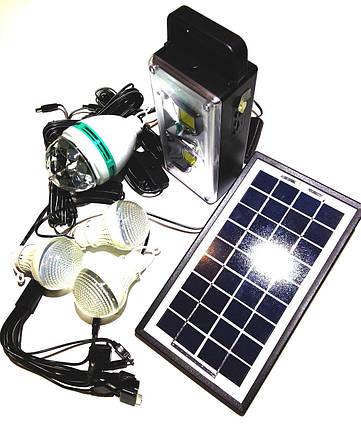 Портативная универсальная солнечная система GDLITE GD-8023, фото 2