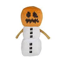 """Игрушка Снеговик, Снежный голем из Minecraft - """"Snow Golem"""" 19 см"""