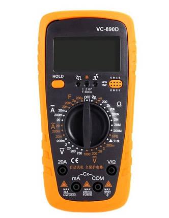 Мультиметр цифровой VC-890D, фото 2