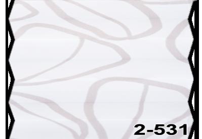 Жалюзі плісе clover 2-531