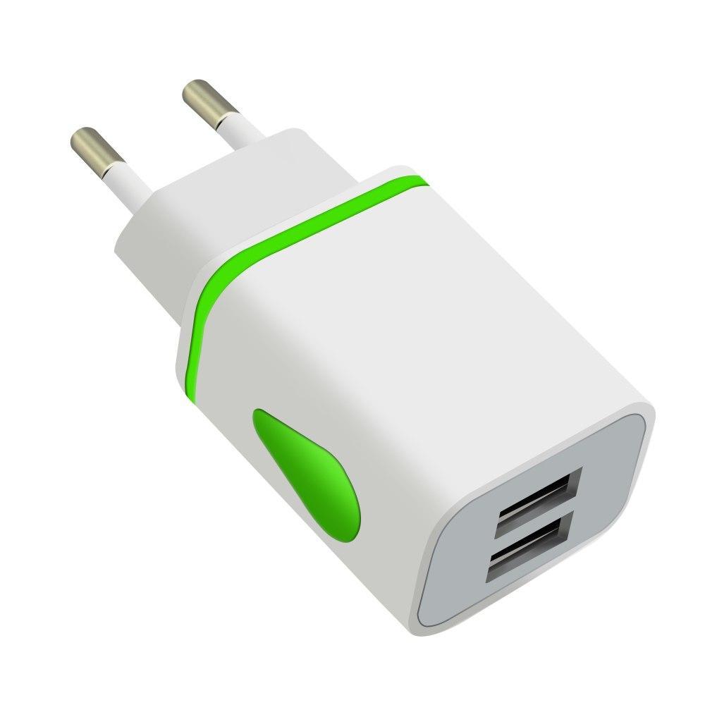 Штекер двойной USB Универсальный