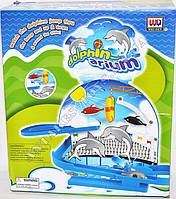 """Трек """"Дельфины в аквариуме"""" WD1015"""