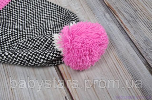вязаные шапочки на осень