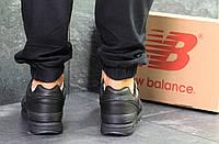 Мужские кроссовки New Balance 997 черные (Реплика ААА+)