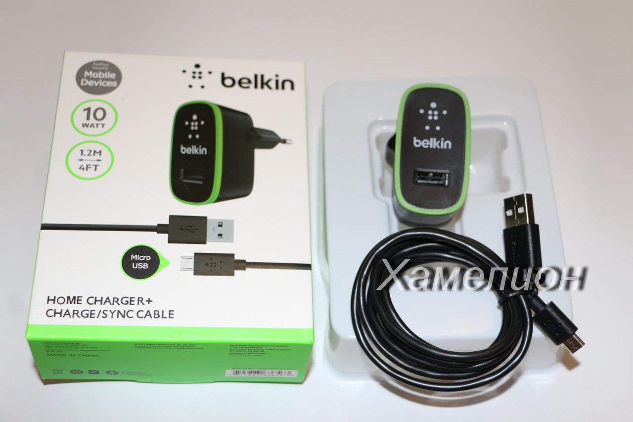 Зарядное устройство Belkin micro Usb