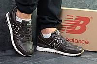 Мужские кроссовки New Balance 997 коричневые (Реплика ААА+)