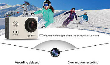 Экшн камера Sports Cam W9 с Wi-Fi FullHD, фото 3