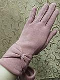 Трикотаж с сенсором женские перчатки 10 цветов для работы на телефоне плоншете ANJELA(только ОПТ), фото 2
