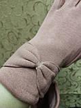 Трикотаж с сенсором женские перчатки 10 цветов для работы на телефоне плоншете ANJELA(только ОПТ), фото 3