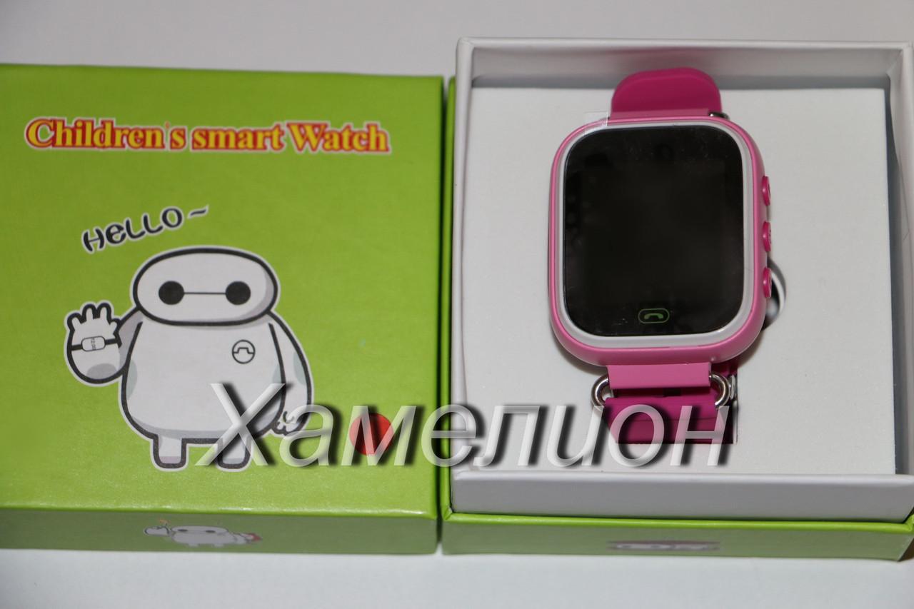 Детские часы Smart Baby Watch Q70 GW100 (только желтый)