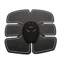 Миостимулятор Beauty Body 6 Pack EMS Миостимулятор для мышц живота EMS Trainer, Черный (SUN0445)