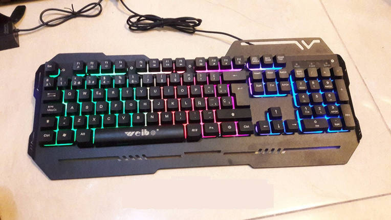 Игровая клавиатура с подсветкой WB-539, фото 2