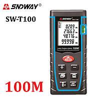 SNDWAY SW-T100 лазерная рулетка лазерный дальномер 100 метров