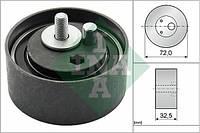 Ролик приводного ремня (натяжной, INA 531 0477 20, 32.5x72, 2.4-2.8) Audi(Ауди) A(А)6 C(С/Ц)4/5 1994-2005(94-05)