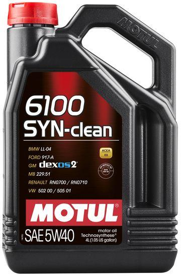 Моторне масло Motul 6100 SYN-CLEAN 5W40 4L