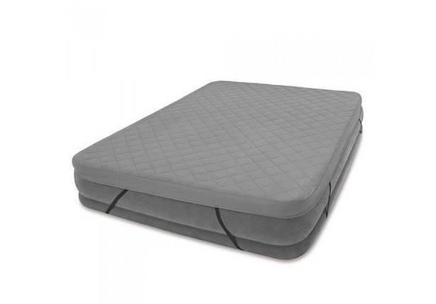 Наматрацник Intex 69643, покривало на надувну двоспальне ліжко, фото 2