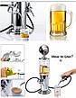 Резервуар для алкоголя пластиковый 900мл, Диспенсер, емкость для виски, коньяка и др., фото 3