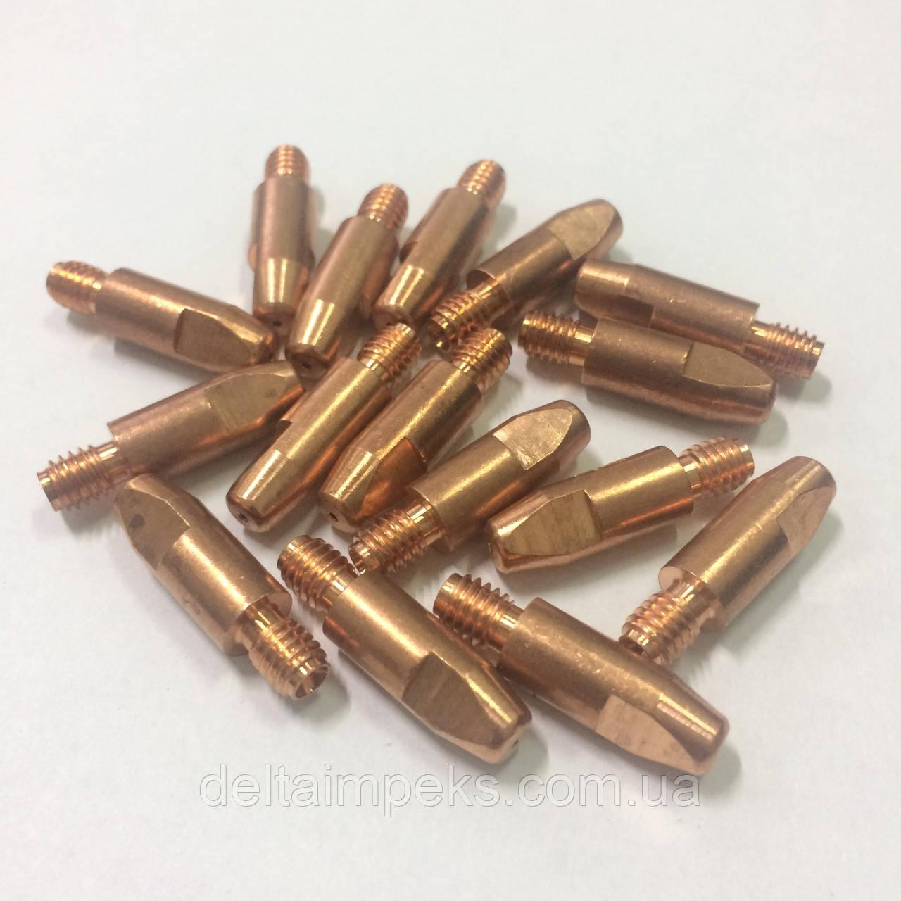 Наконечник E-Cu М6 D 0,8/8,0/24 для горелки ABIMIG 155 LW