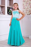 Детское нарядное выпускное платье два в одном 1070