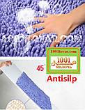 """Набір з 2-х килимків з мікрофібри """"Макарони або дреди"""" для широкого застосування, 80х50 см і 35х50 див., фото 3"""