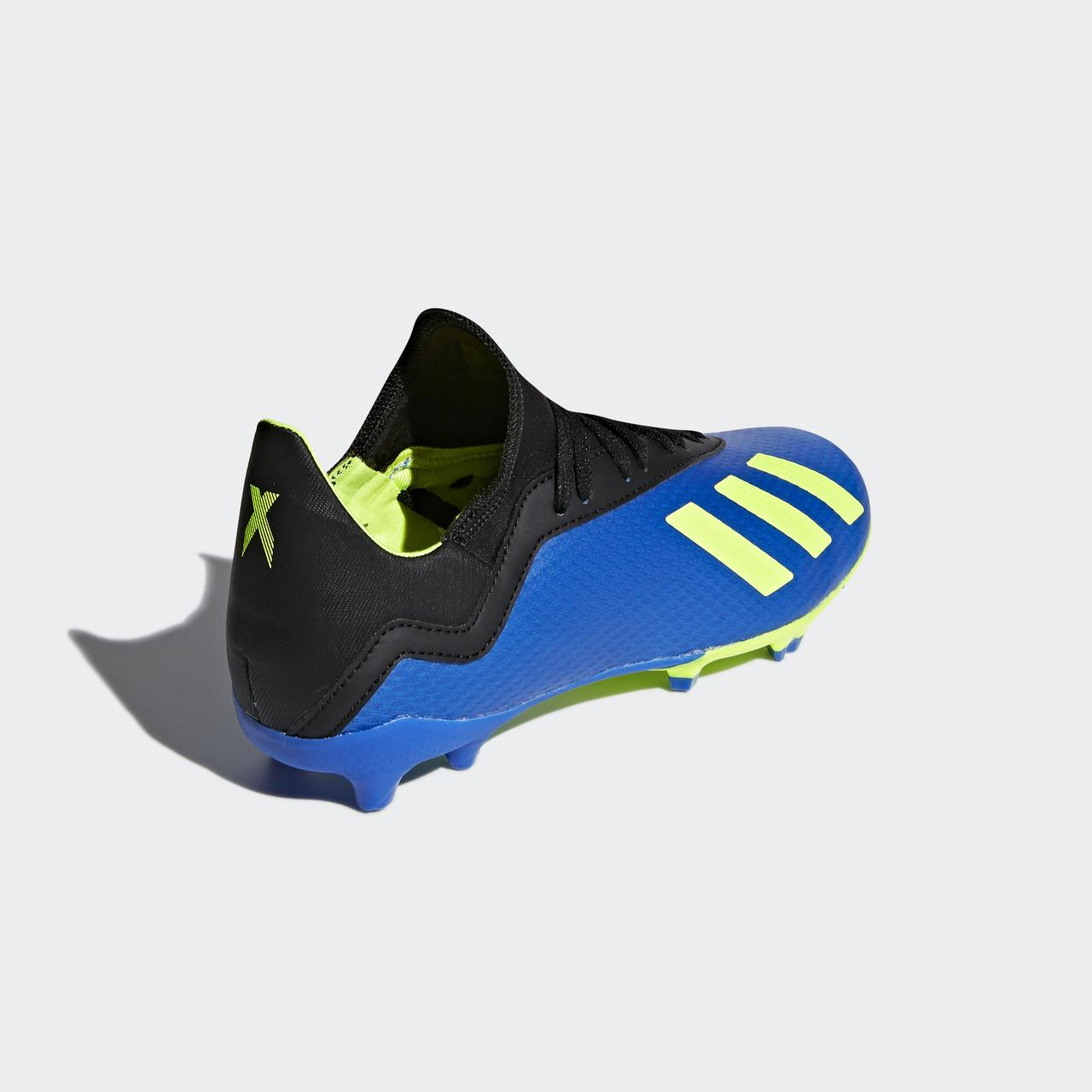 19d55de506f4 ... Детские футбольные бутсы Adidas Performance X 18.3 FG (Артикул   DB2416), ...