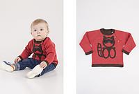 Красная детская кофточка, рост 74-86 см., 366/332 (цена за 1 шт. + 34 гр.)