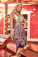 6aba6137c588b Платье для пляжа без рукавов Iconique IC9-106 44(M) Цветной Iconique IC9