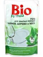 Гель для мытья посуды BIOF Чайное дерево и мята 500мл дой-пак