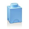 Одноточечный голубой контейнер для хранения Lego PlastTeam 40010136